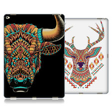 OFFICIAL BIOWORKZ COLOURED ANIMAL HEAD 3 SOFT GEL CASE FOR APPLE SAMSUNG TABLETS