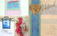HUSBAND or WIFE ANNIVERSARY CARD Allport Editions / Heath CLASSIC & YOUTHFUL