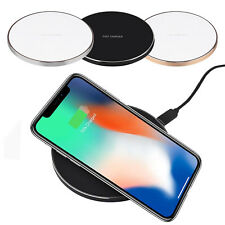 Qi Fast Wireless Charger&Charging Pad for iPhone X/8/8 Plus&Galaxy S9/S8/Note 8*
