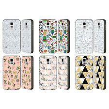 OFFICIAL JULIA BADEEVA ASSORTED PATTERNS 3 BLACK SLIDER CASE FOR SAMSUNG PHONES