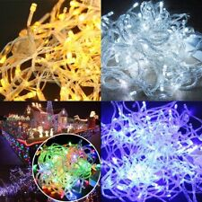 100LED 10M Fairy String Light Christmas Tree New Year Party Xmas Lamp Waterproof