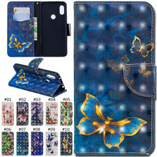 For Xiaomi Redmi Note 6/Note 6 Pro Magnetic PU Leather 3D Case Cover Wallet Skin