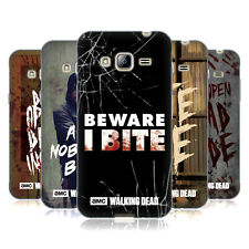 OFFICIAL AMC THE WALKING DEAD TYPOGRAPHY GEL CASE FOR SAMSUNG PHONES 3