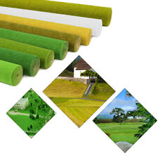 0.4mX1m Grass Mat Model Green Artificial Lawn Architectural Layout HO N Scale