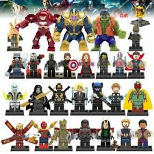 Super Heroes Building Blocks Marvel Avengers 27Pcs/lot Infinity War Iron