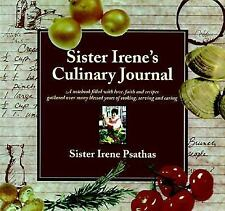 Sister Irene's Culinary Journal: A Notebook Filled With Love, Faith, and Recipe