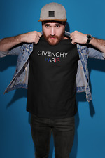 Shirts 1Givenchy Paris T-shirt Black Cotton S-5XL