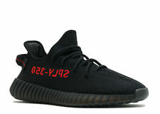 ADIDAS YEEZY BOOST 350 V2 Men's Running Trainers Shoes  - Black & Red