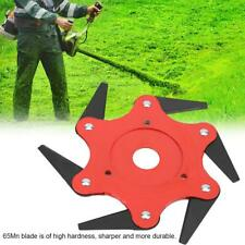 Outdoor Trimmer Head 3/5/6 Steel Blades Razors 65Mn Lawn Mower Grass Weed Cutter