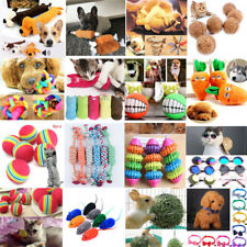 Dog Cat Play Toys Pet Puppy Teeth Chew Training Squeaky Plush Sound Funny Toys