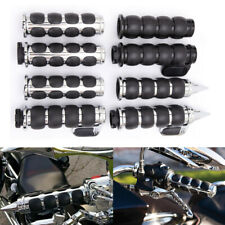 """1"""" Motorcycle Handlebar Hand Grips For Harley Sportster XL883 1200 Dyna Fatboy H"""