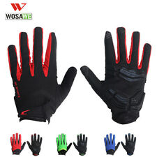 Full Finger Cycling Gloves MTB Bike Touch Screen Thickened Gel Pad Bicycle Glove