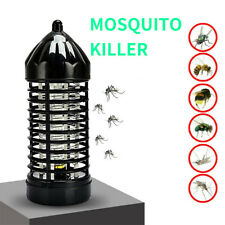 Electric Electronic Insect Fly Mosquito Bug Killer Trap Zapper UV LED Light Lamp