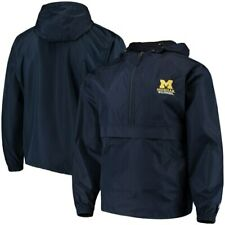Michigan Wolverines Champion Packable Jacket - Navy