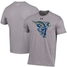 Navy Midshipmen Under Armour Rivalry Game Charged Cotton T-Shirt - Heather Gray
