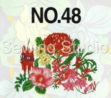 BROTHER #48 - AUSTRALIAN FLOWERS DESIGNS - M/C EMBROIDERY DESIGNS ON CD OR USB