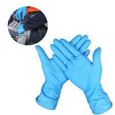 50 Pairs Safe Nitrile Disposable Latex Gloves Powder Free Medical Exam Cleaning