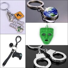 Batman GTA Handcuff Galaxy Keyring Keychain Key Chain Key ring Games Gift