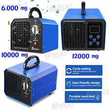 12000/10000/6000mg/h Ozone Generator Commercial Air Purifier Home Car Deodorizer
