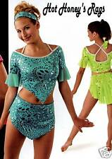 NEW Mirage Latin Jazz Skate Dance Costume multi sizes