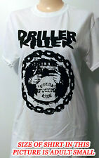 Driller Killer - Total F.cking Hate - White Shirt