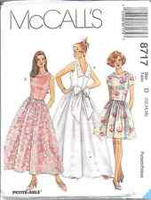 8717 UNCUT McCalls SEWING Pattern Formal Prom Dance Princess Party Dress OOP FF