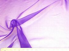 Discount Fabric Crystal Organza Orchid Purple OR68