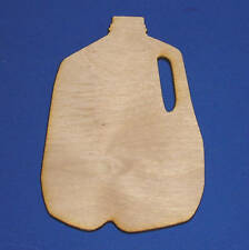 MILK GALLONS Unfinished Wood Shapes Cut Outs MG398