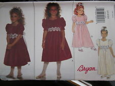 3773 Butterick SEWING Pattern Girls BRYAN Fancy Dress FF