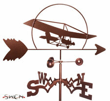 SWEN Products ULTRALIGHT TRIKE AIRCRAFT AIRPLANE Steel Weathervane
