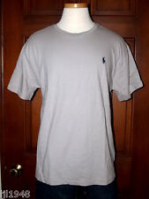 Polo Ralph Lauren Oxford Gray T-Shirt Polo Pony M L XL XXL NWT