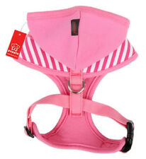 Hooded Puppia Dog Harness Soft Hoodie - Halcyon - Adjustable Chest Belt