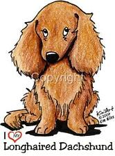 Longhaired Dachshund Dog Tshirts or Nightshirt 7567 pet