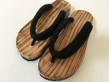 Japanese Kimono Wooden Geta SPA Sandals/Size US 6 to 10
