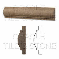 Noce Travertine Arch / Baldwin Trim Molding Liner