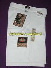 "Dickies Mens 42283 WH 13"" Loose Fit Cell Multi Use Pocket Work Short White"