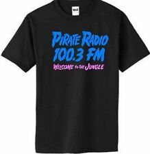 Pirate Radio KQLZ Welcome to the Jungle Shirt  T 100.3