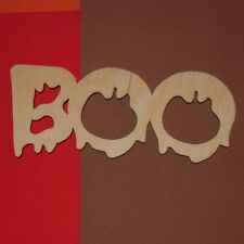 Boo Unfinished Wood Shapes Cut Outs B90052