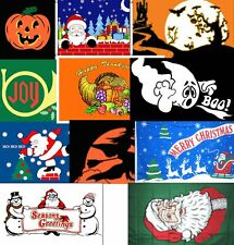 Holiday Flag 3 ft x 5 ft  (Halloween, Thanksgiving or Christmas)