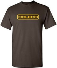 COLECO T-shirt RETRO Video Game Shirt COOL 80s GEEK TEE