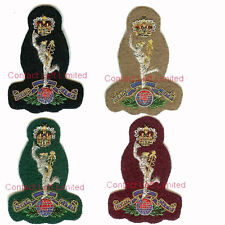 Official Royal Signals Officers Cap Badges Wire Embroided ( SAS PARA Commando