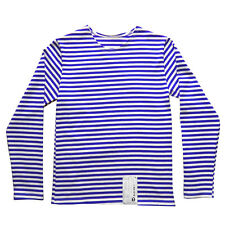 Genuine RUSSIAN PARA Blue Stripe T-Shirt Top All SIZES Long Sleeve Paratrooper