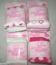 Baby girls tights new soft patterned  0 to 6 months 1 year  or 18 to 23 months