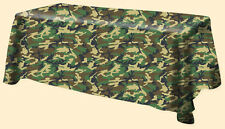 Camo Camouflage Tablecloths and Napkins