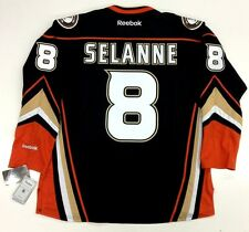 TEEMU SELANNE ANAHEIM DUCKS REEBOK THIRD JERSEY GENUINE RBK PRODUCT