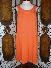 Tommy Bahama Relax Rub a Dub Slub Dress in Sevilla Orange Dress New With Tags