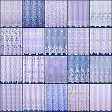 CHOICE OF 20 CONTEMPORARY NET CURTAINS - SOLD BY THE METRE - FREE POSTAGE!