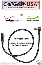 Novatel Verizon USB760 Sprint U760 MC760 External Antenna Adapter Cable - FME M