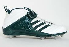 Adidas Pro Intimidate D 3/4 Football Cleats White & Green NEW