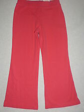 Gymboree FALL FOR AUTUMN Basic Berry Pink Flare Yoga Pants NWT 4
